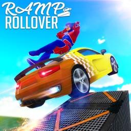 Ramp Rollover: Car Crash Derby