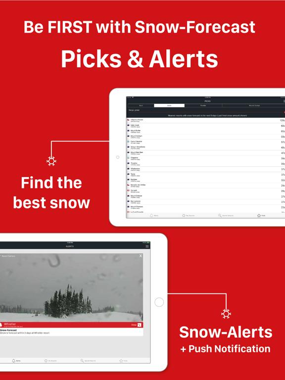 Snow Forecast screenshot