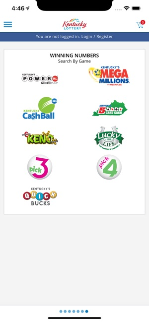 Kentucky Lottery Official App on the App Store