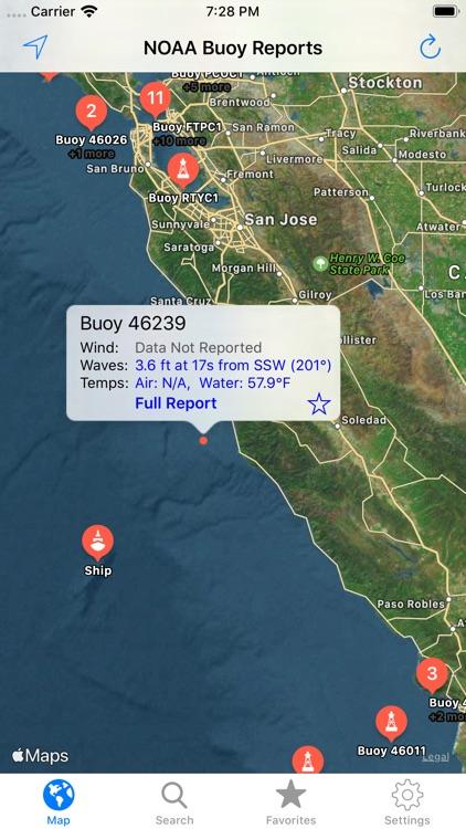 NOAA Buoy Reports screenshot-5