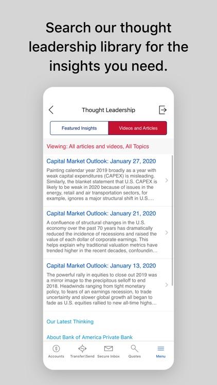 Bank of America Private Bank screenshot-4