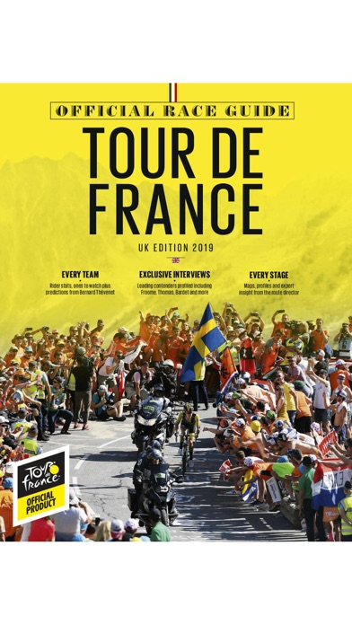 Official Tour de France Guide screenshot one