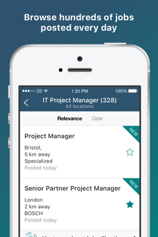 Screenshot of Jobsite - UK Job search app