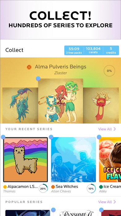 Neonmob Collectible Cards By Neonmob Inc Ios United