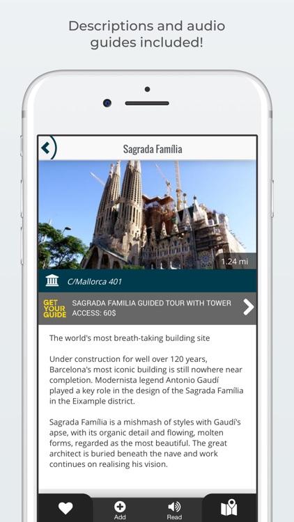 BARCELONA City Guide and Tours screenshot-3