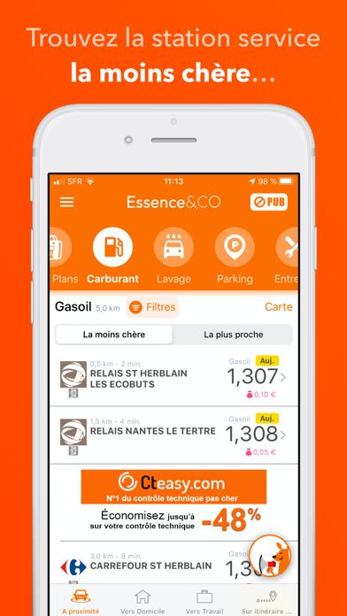 Screenshot #1 pour Essence&CO