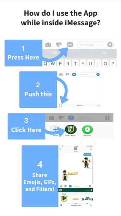 USF Emojis & Filters