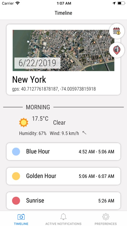 B&G: blue hour, golden hour screenshot-0