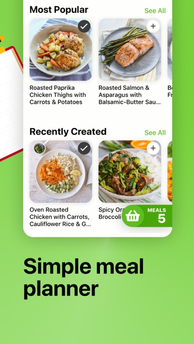 Descargar Mealime Meal Plans & Recipes para Android
