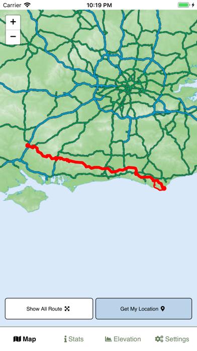 South Downs Way Map screenshot 1