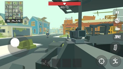 Screenshot of Pixel Battle Royal Shooter Pro App