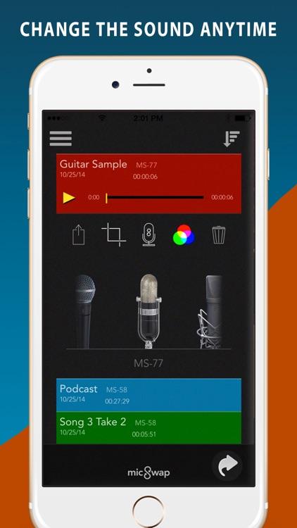 MicSwap Pro Microphone Modeler screenshot-3