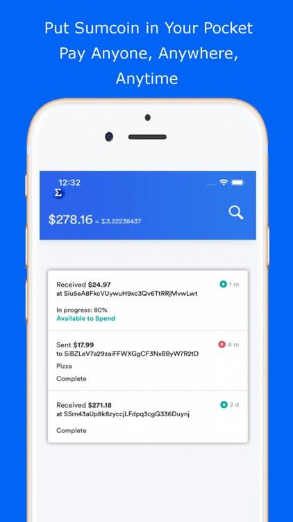Slice Wallet | Sumcoin Wallet