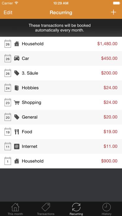 Moneybook review screenshots