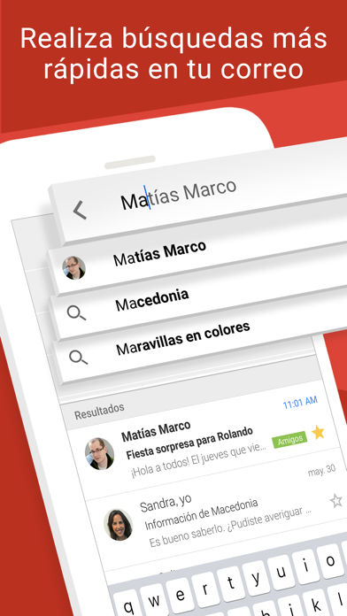 Screenshot for Gmail: El correo de Google in Chile App Store