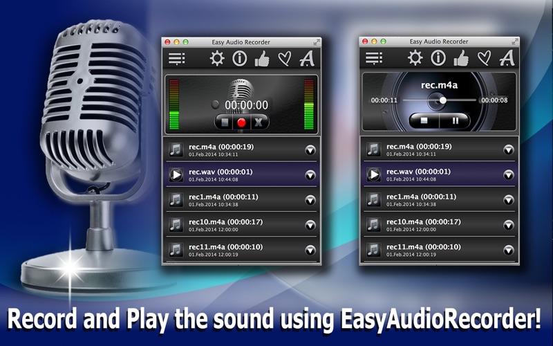 EasyAudioRecorderLite Screenshot