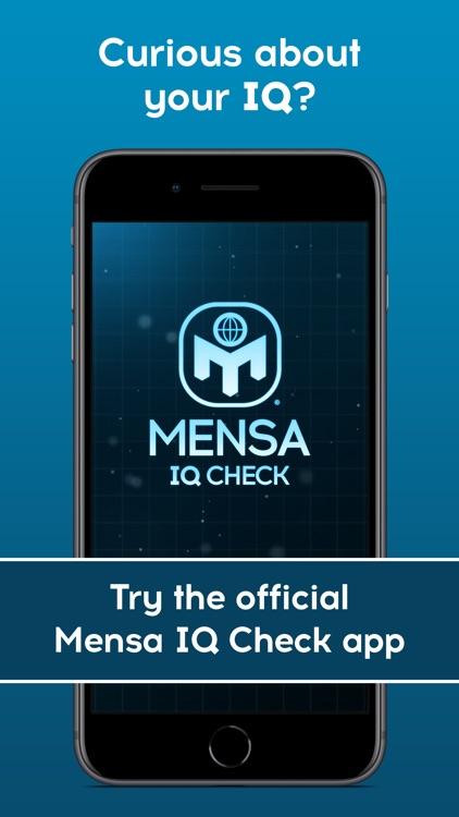 Mensa IQ Check