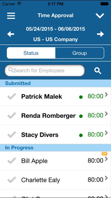 Deltek Vision Time & Expense screenshot four