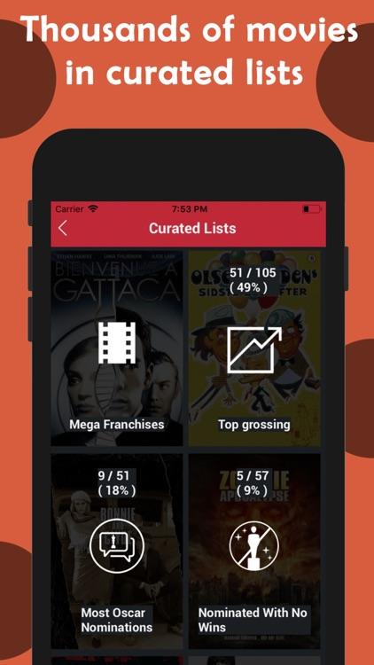Cinetrak - Movie and TV guide screenshot-9