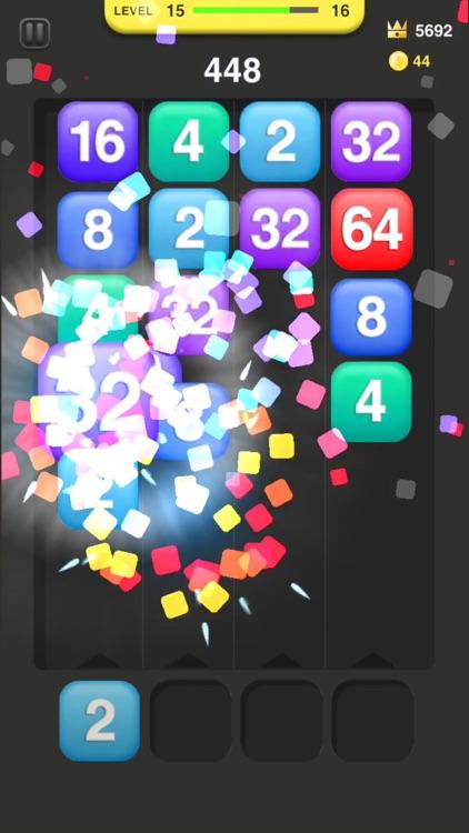 Hit 2048 screenshot-3