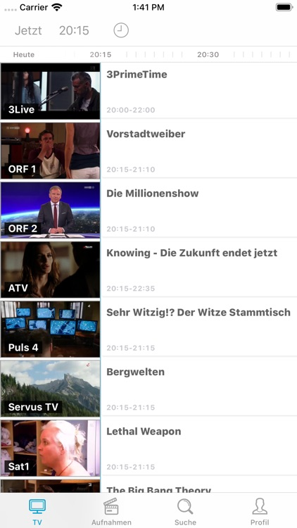 Drei TV screenshot-1