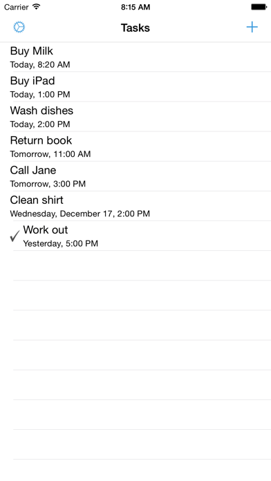 SmallTask - Simple To-Do List Screenshots