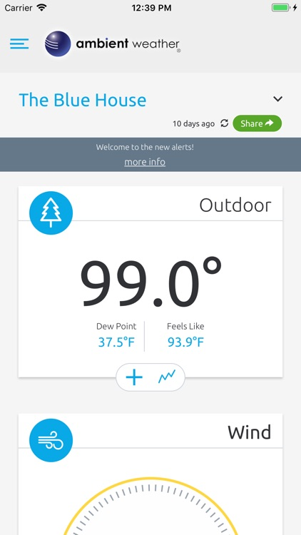 Ambient Weather Dashboard