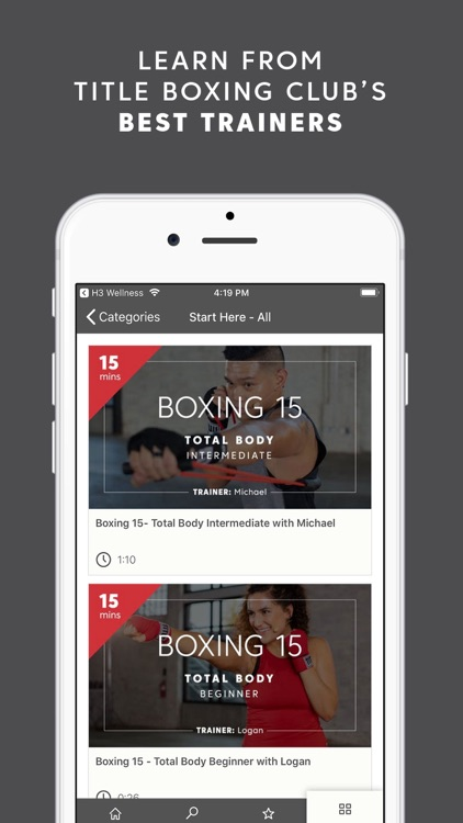 TITLE Boxing Club On Demand