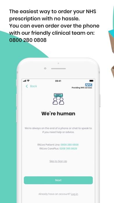 RXLive - NHS prescriptions screenshot three