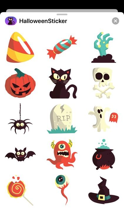 Halloween Sticker Go