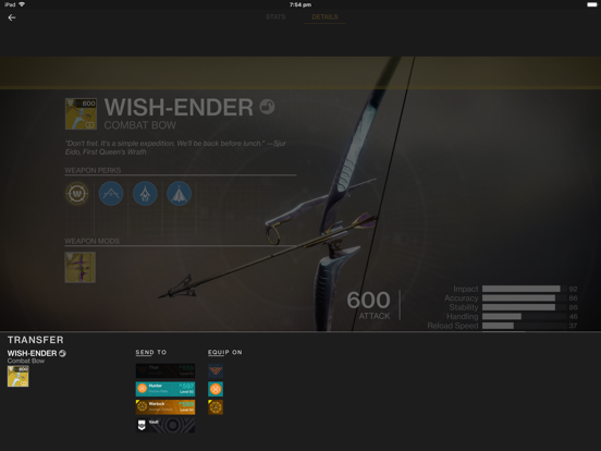 Ishtar Commander for Destiny 2 - Revenue & Download