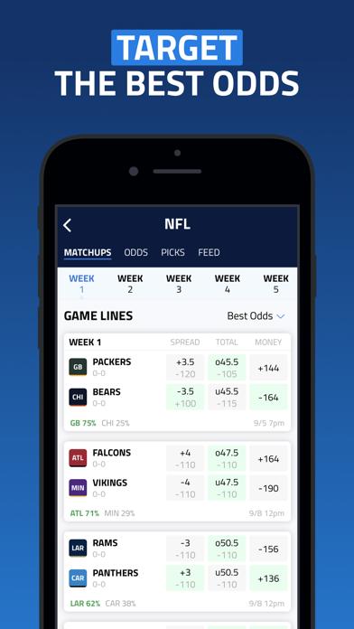 BettingPros: Sports Betting Screenshot