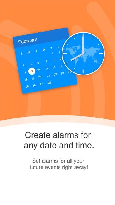 Galarm - Alarms and Reminders screenshot two