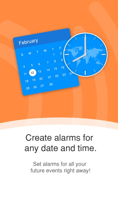 Galarm - Alarms and Reminders screenshot two