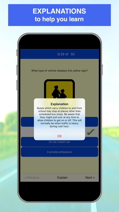 Screenshot for Driving Theory Test - 2019 in Israel App Store