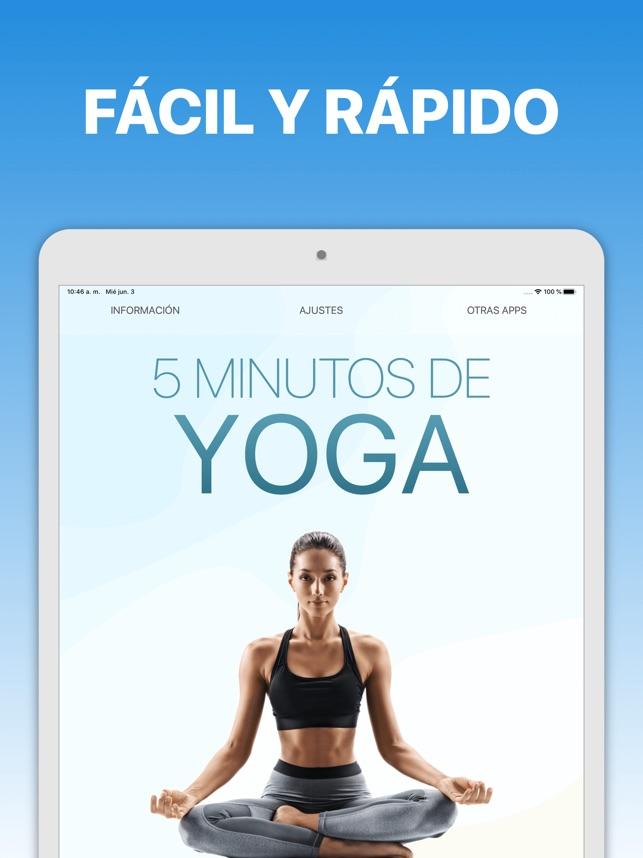 5 Minutos De Yoga En App Store