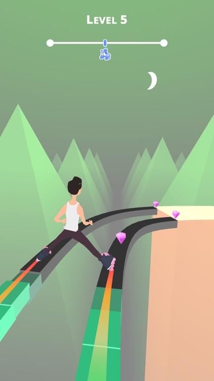 Sky Roller - Fun runner game