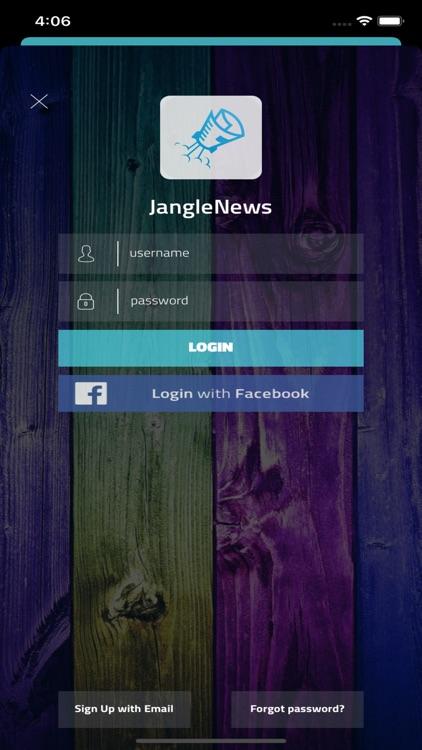 Jangle News: Rss Feed App screenshot-3