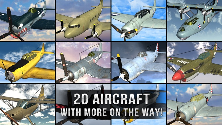 Air Combat Pilot: WW2 Pacific screenshot-9