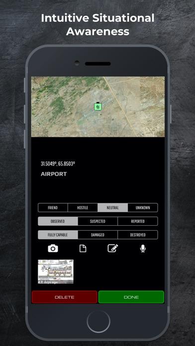 SITREP Tactical Mapping (iTAK) Screenshot
