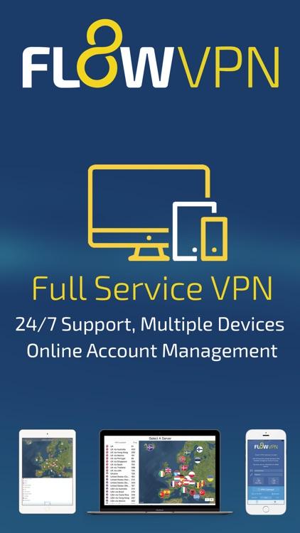 Flow VPN screenshot-4