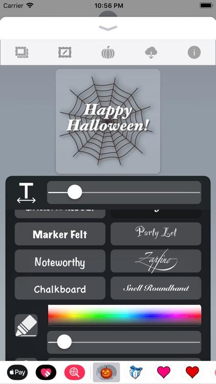 Happy Halloween • Stickers screenshot-5