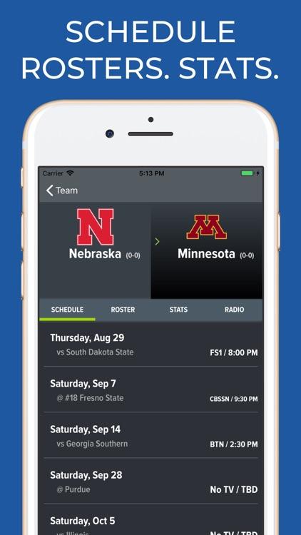 Nebraska Football Schedules screenshot-9
