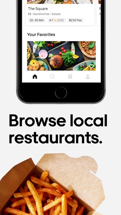 Screenshot for Uber Eats: Food Delivery in Poland App Store