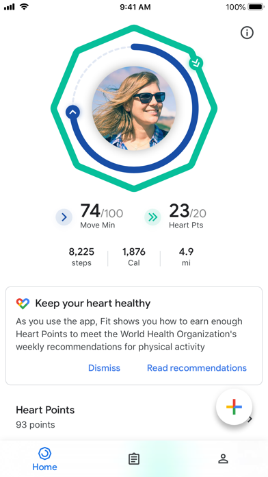 Google Fit – Activity Tracker screenshot 6