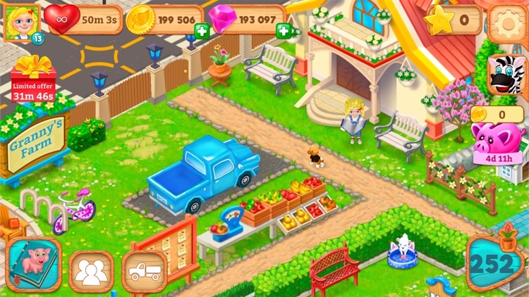 Granny's Farm: Match-3 Game screenshot-8