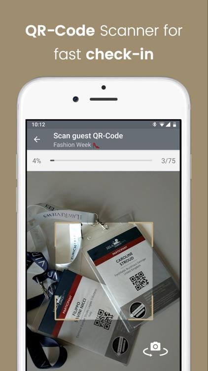 Eventor.app   Guest List screenshot-5
