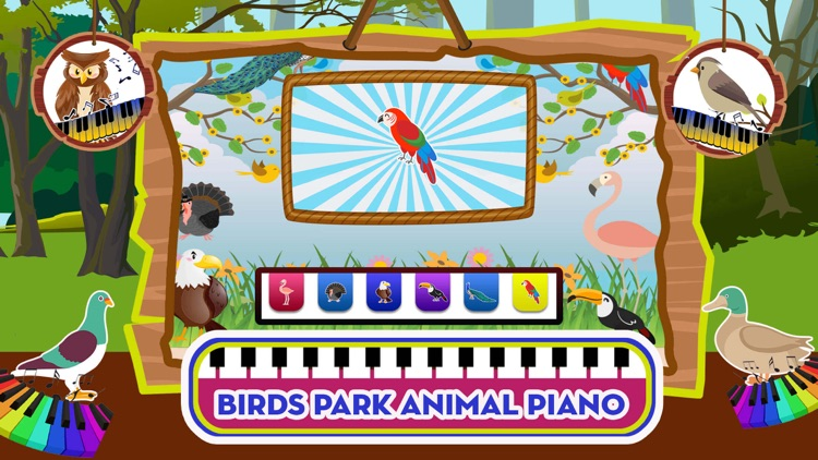 Baby Piano Animal Sounds Game