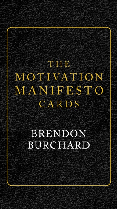 Motivation Manifesto Cards screenshot 1