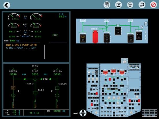 Airbus A320 ecam Pilot trainer | App Price Drops
